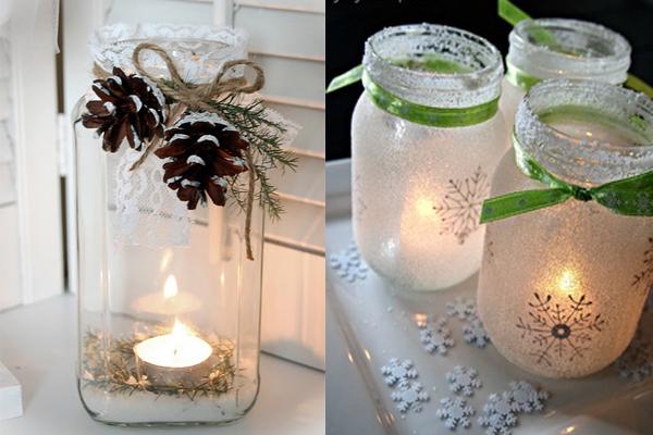 Svece u tegli Praznični ambijent: Najlepše dekoracije sa svećama