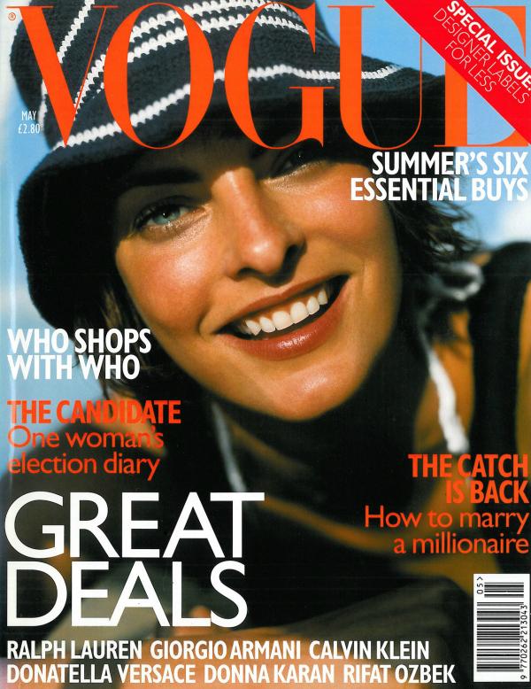 """Svibanj 1997 Mario Testino: Arhiva """"Vogue"""" fotografija"""