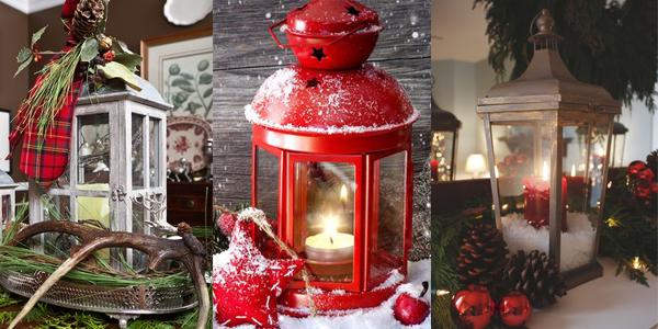 Tri fenjera Praznični ambijent: Najlepše dekoracije sa svećama