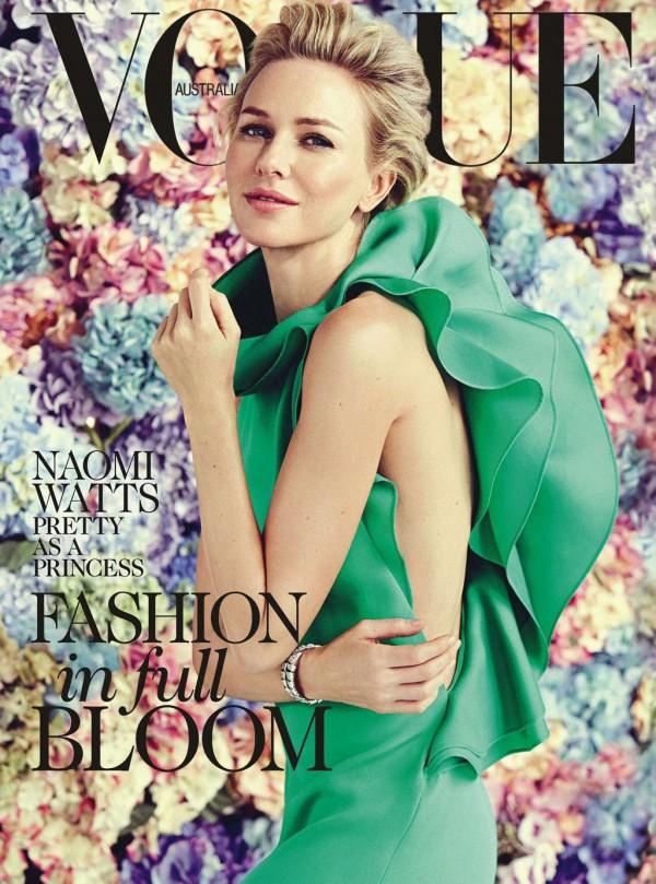Vogue Australia February 2013 Naomi Watts Cover Godina kroz naslovnice: Vogue