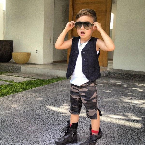 a 4x Nova ikona stila: Petogodišnji dečak postao zvezda na Instagramu