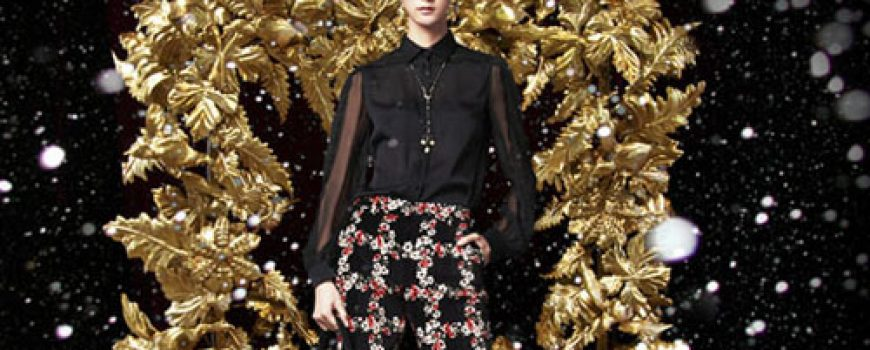 Dolce & Gabbana: Zlatni praznici