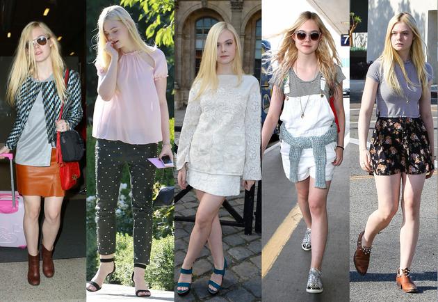 embedded Elle Fanning Fashion Style Pet modnih ikona mlađih od dvadeset godina