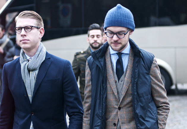 embedded Overhand scarf knot Moda za muškarce: Četiri načina kako možete nositi šal