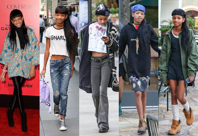 embedded Willow Smith Fashion Style Pet modnih ikona mlađih od dvadeset godina