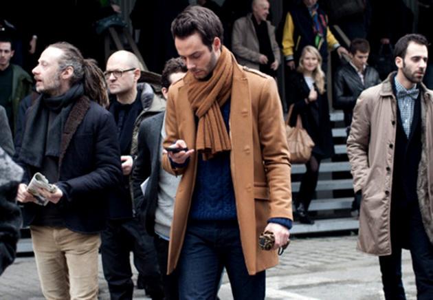 embedded parisian scarf knot Moda za muškarce: Četiri načina kako možete nositi šal