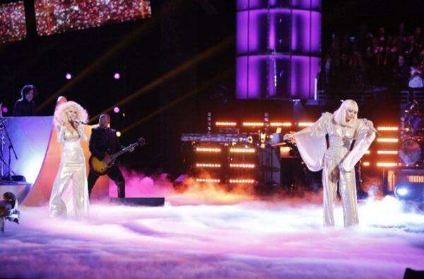lady gaga and christina aguilera duet on the voice Fantastičan duo: Lady Gaga i Christina Aguilera