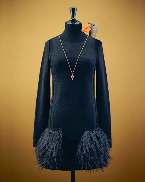 louis vuiton dung vit thay nguoi mau chup hinh quang cao 10 Louis Vuitton: Praznični katalog