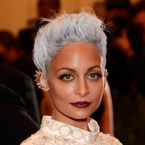 nicole richie met ball hair color gray w724 Beauty trend: Paučina u kosi