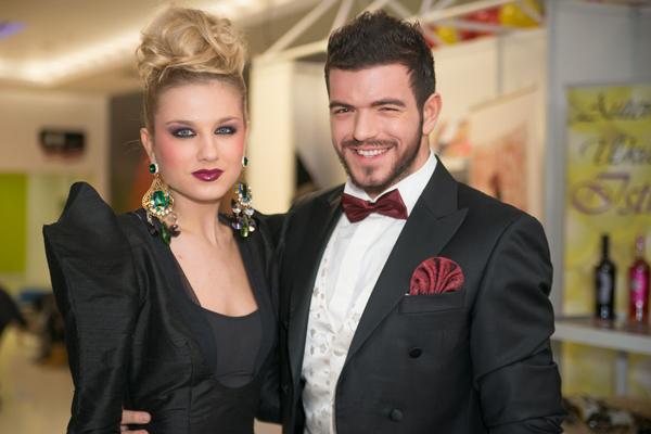 photo 5 Revija frizura i make up a: Ambasadori lepote i glamura Diktat u tržnom centru Stadion