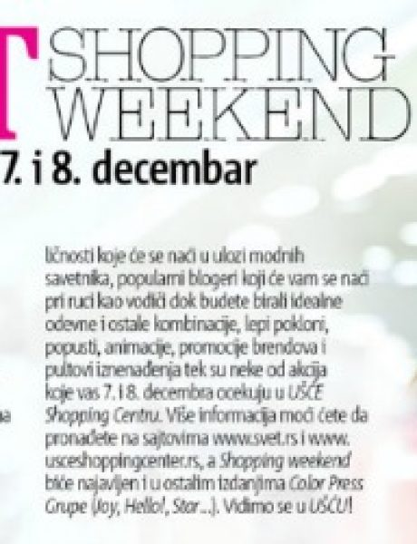 Svet&Style shopping weekend