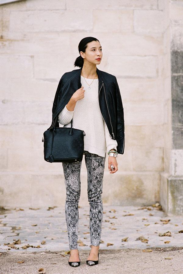 streetstyle8162 web 10 odevnih kombinacija: Lily Kwong