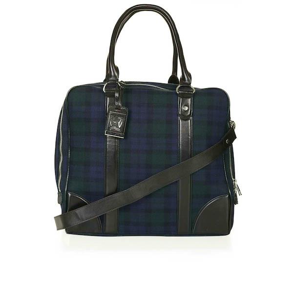 top Shop Tartan Military weekender Bag Šest modela torbi koje svaka žena treba da poseduje