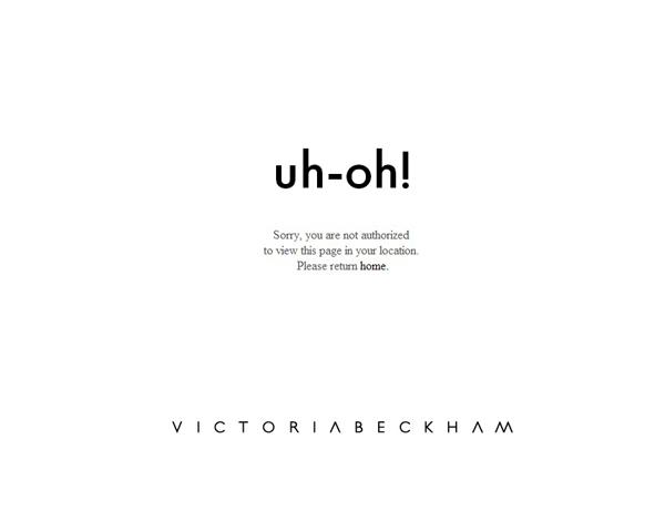 vb1 Victoria Beckham otvorila online shop, ali ne i za Srbiju