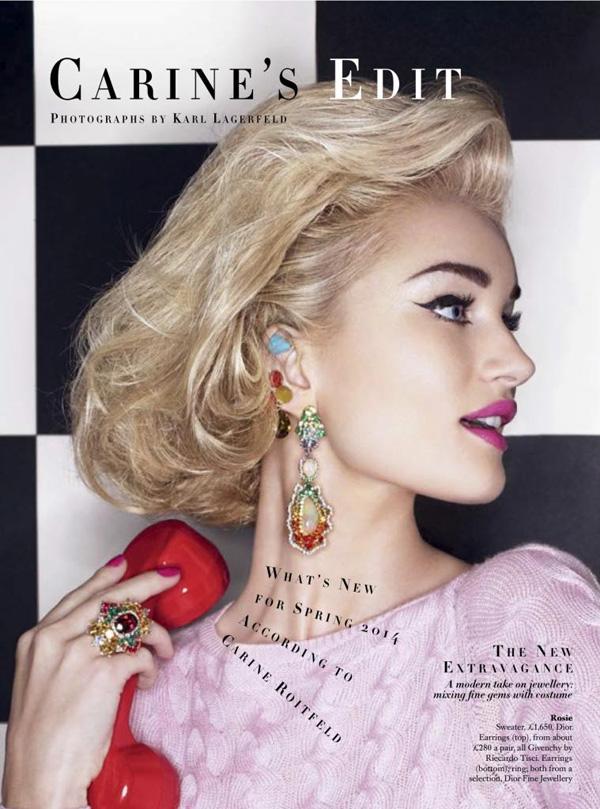 759x1024xrosie bazaar uk.jpg.pagespeed.ic . KXu5ErZb1 Harpers Bazaar UK: Nova naslovnica Karla Lagerfelda