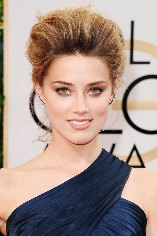 Amber Heard glamour 12jan14 rex b 592x888 1 Beauty trendovi: Golden Globe 2014