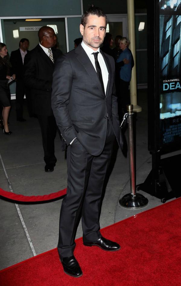Colin Farrell 8 Najbolje obučeni muškarci u 2013.