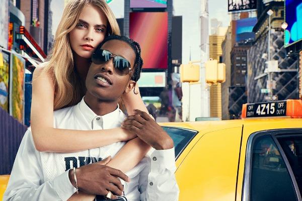 DKNY 5 DKNY: Cara Delevingne i buntovnici