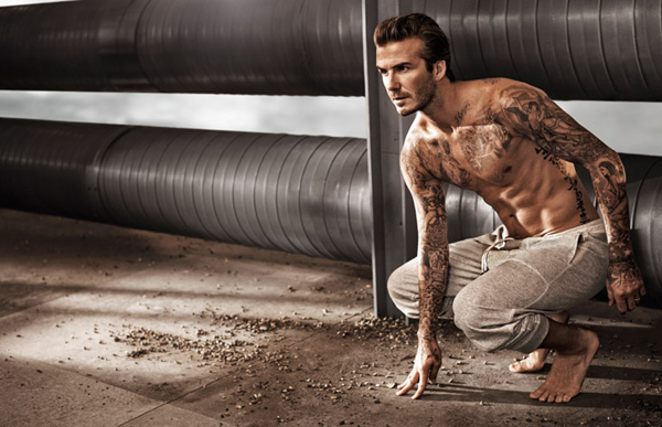 David Beckham HM Spring 2014 01 David Beckham: Do gole kože za H&M