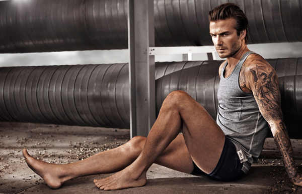 David Beckham HM Spring 2014 04 David Beckham: Do gole kože za H&M