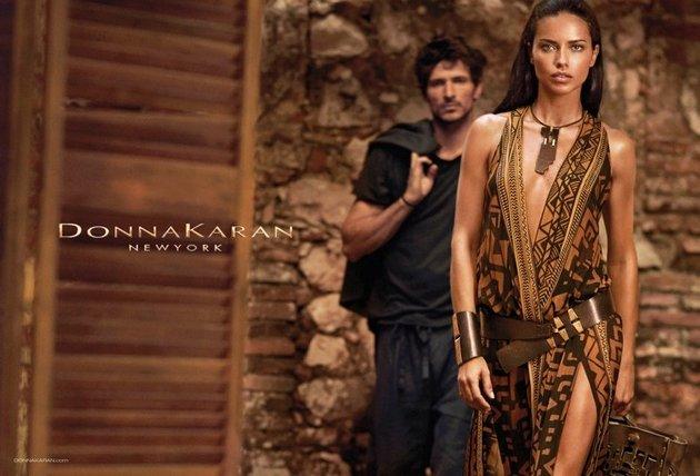 Donna Karan spring summer 2014 ad campaign content Viktorijin anđeo kao zaštitno lice brenda Donna Karan