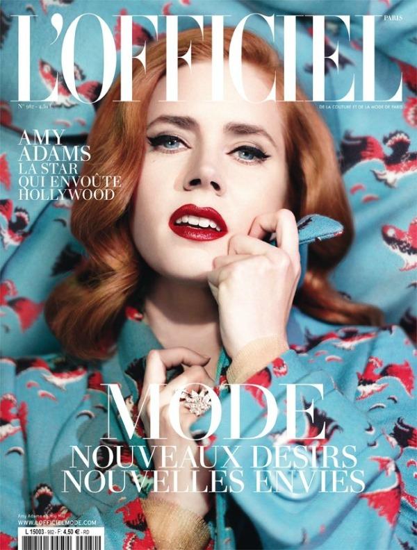 Ejmi Adams izgleda kao prava holivudska dama Modni zalogaj: Amy Adams za LOfficiel Paris