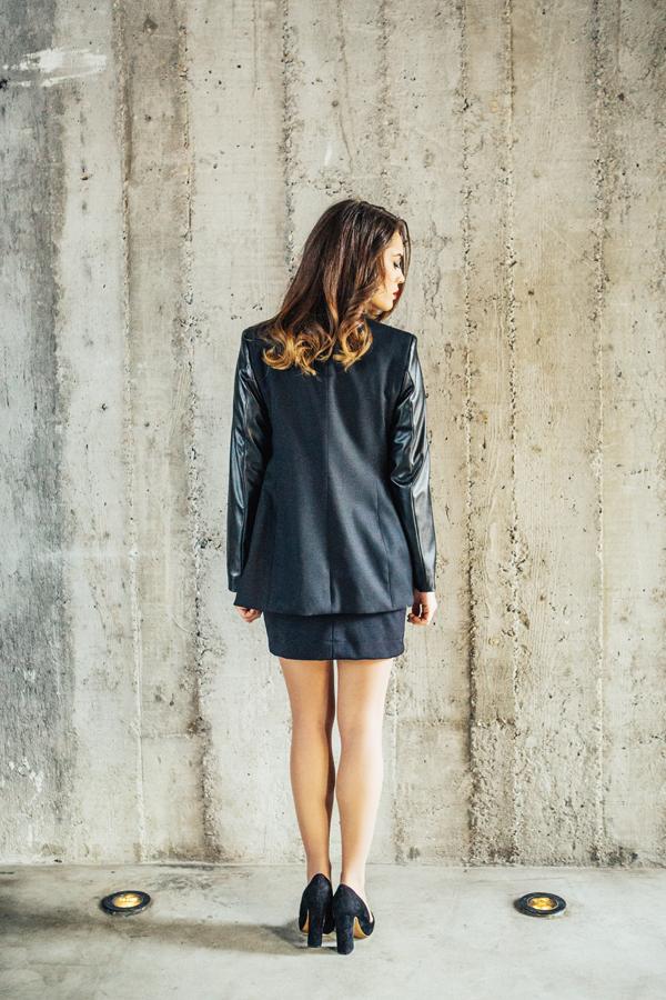 IMG 0088 Modni predlog Wannabe Collection: Sako i mala crna haljina