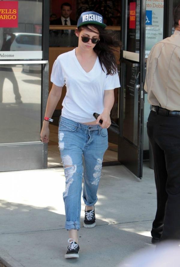 Kristen Stewart 2 10 odevnih kombinacija: Kristen Stewart