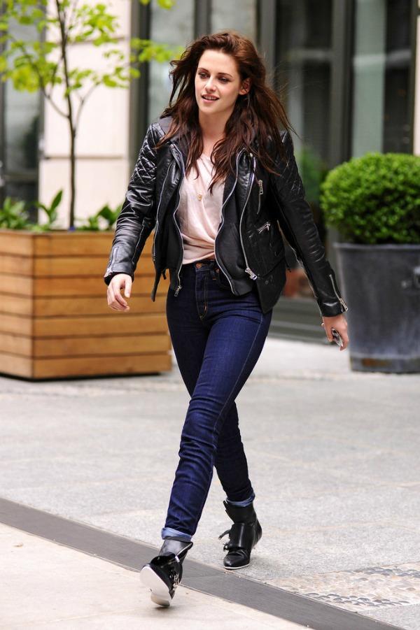 Kristen Stewart 9 10 odevnih kombinacija: Kristen Stewart