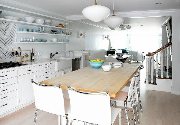 Kuhinja u belom David Koepp: 13 ideja za uređenje koje možete pronaći u kući scenariste