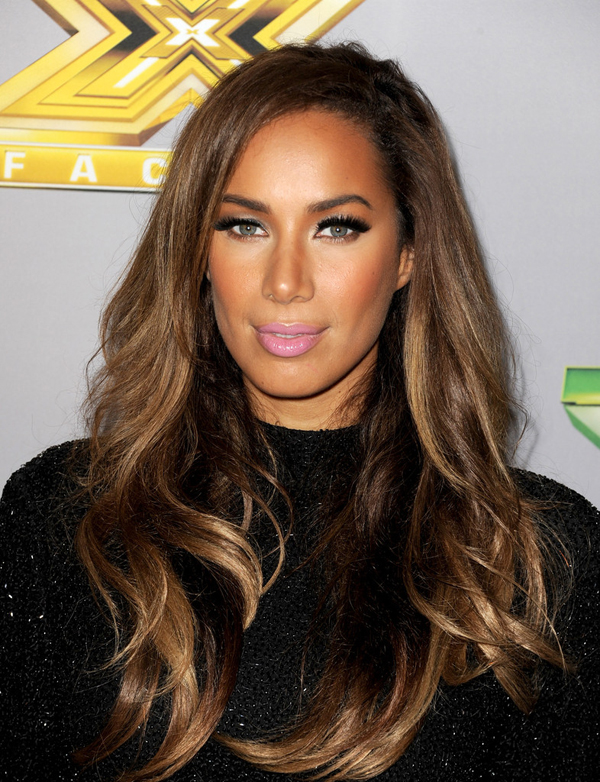 Leona+Lewis+Makeup+Pink+Lipstick+IkbHPzFjVMox Beauty trend: Pink usne