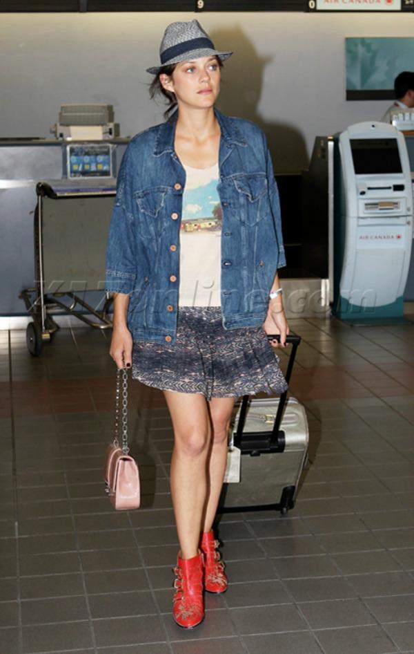 Marion kotijar teksas jakna 10 odevnih kombinacija: Marion Cotillard