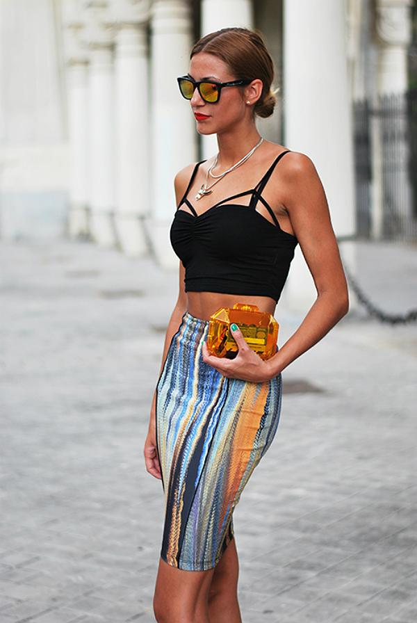 Najbolje izgledaju uz suknje i pantalone visokog struka Modni rečnik: Crop top