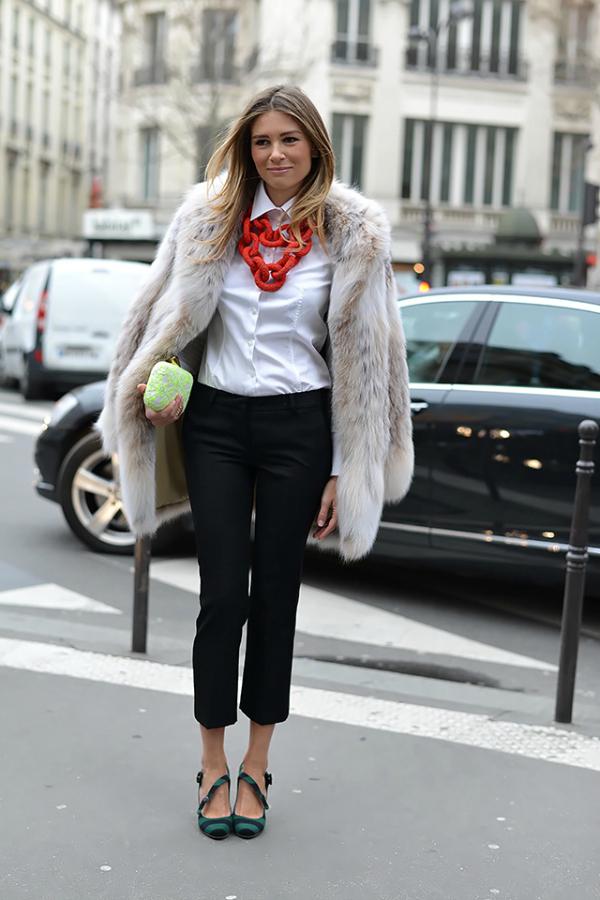Ogrlica Paris Haute Couture Week: Moda van modnih pisti