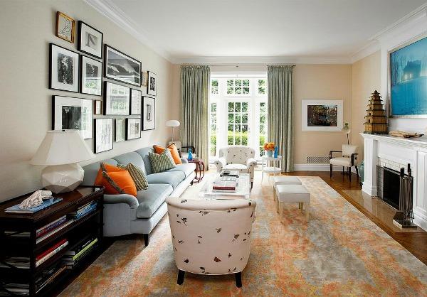 Ramovi dnevna soba David Koepp: 13 ideja za uređenje koje možete pronaći u kući scenariste