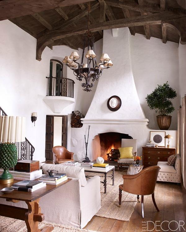 Reese Witherspoon Dnevne sobe poznatih kao inspiracija