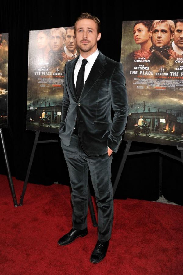 Ryan Gosling 1 Najbolje obučeni muškarci u 2013.
