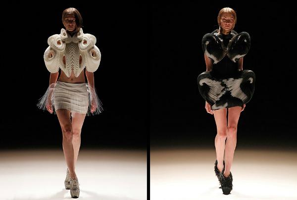 Sa Mercedes Benc Nedelje mode u Berlinu 2012  Kako se nositi avangardno