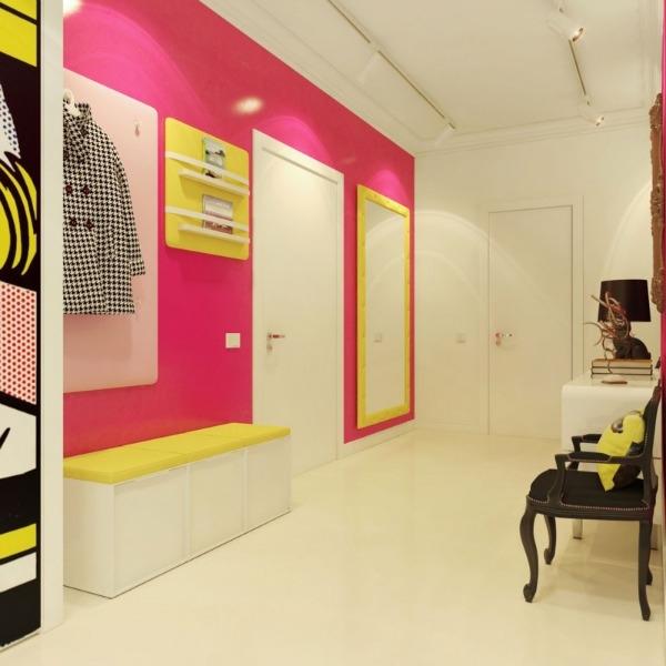 Slika 5 Moderni pop art enterijer