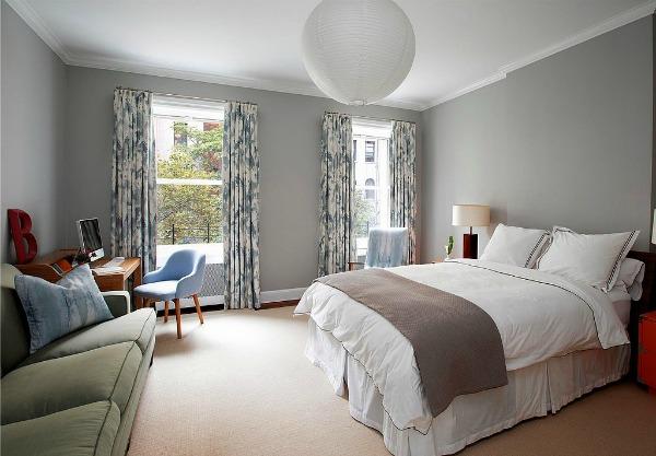 Spavaca soba zavese David Koepp: 13 ideja za uređenje koje možete pronaći u kući scenariste