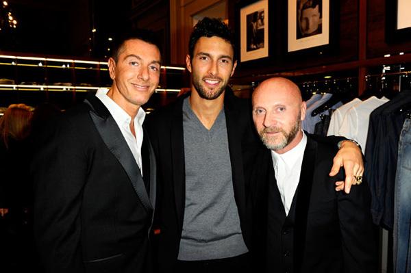 Stefano Gabbana noah Mills Domenico Dolce Večna inspiracija modne kuće Dolce & Gabbana: Noah Mills