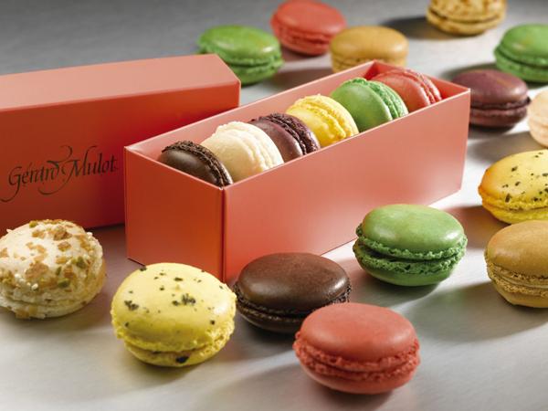 Zerard Mulo makaroni Autentične slatke kuće u Parizu: Macarons