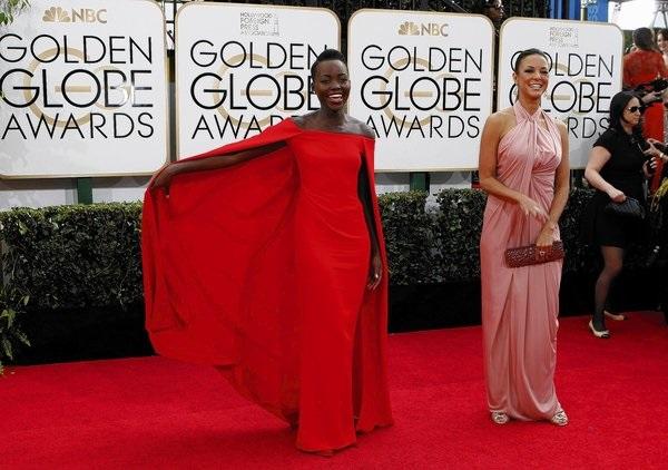 Zlatni globus Lupita Njongo Dodeljene nagrade Zlatni globus: Generalna proba za Oskara