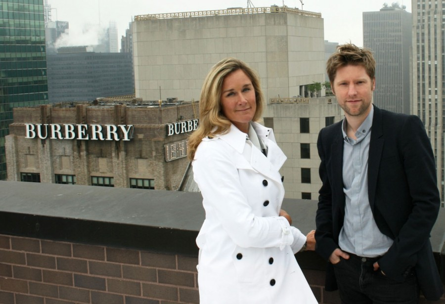 angela ahrendts and christopher bailey Ona će promeniti Apple: Angela Ahrendts