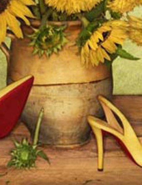 Christian Louboutin: Cveće i cipele