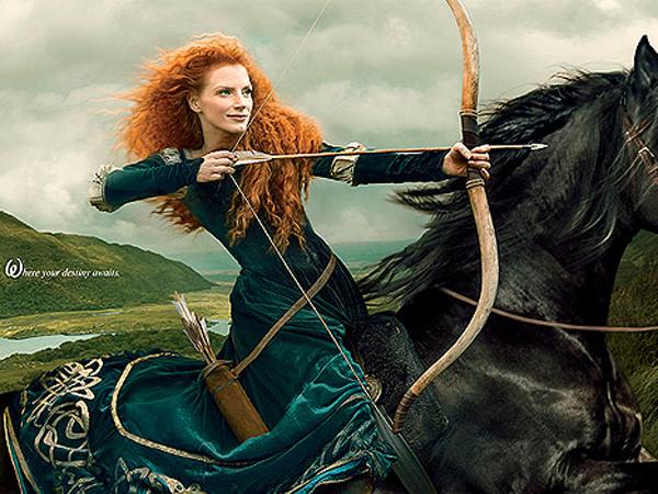 jessica chastain 600 Jessica Chastain: Princeza na konju
