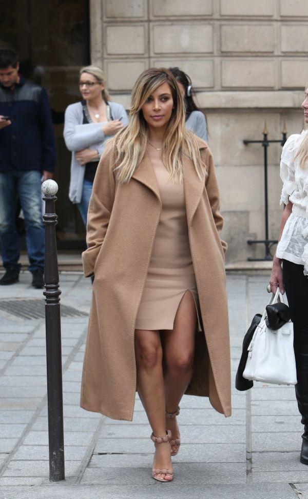 kim kardashian Svi omiljeni kaputi Kim Kardashian