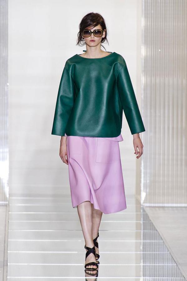 marni spring summer 2013 mfw15 Trendovi sa modnih pista koji su obeležili godinu za nama