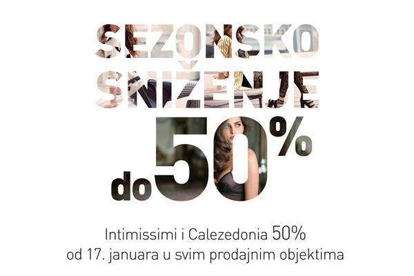 newsletter januar Intimissimi i Calzedonia: Sezonsko sniženje