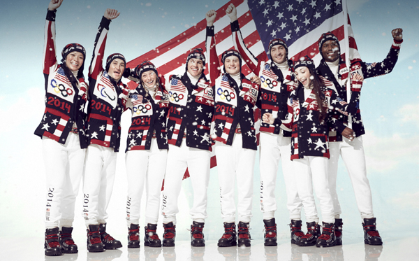 ralph lauren partner athletes Ralph Lauren: Uniforme za Zimske olimpijske igre